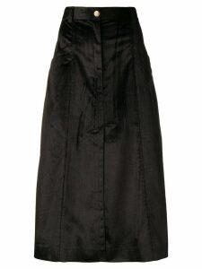 Nina Ricci A-line midi skirt - Black
