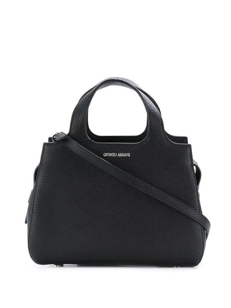 Giorgio Armani small tote - 80001 Black