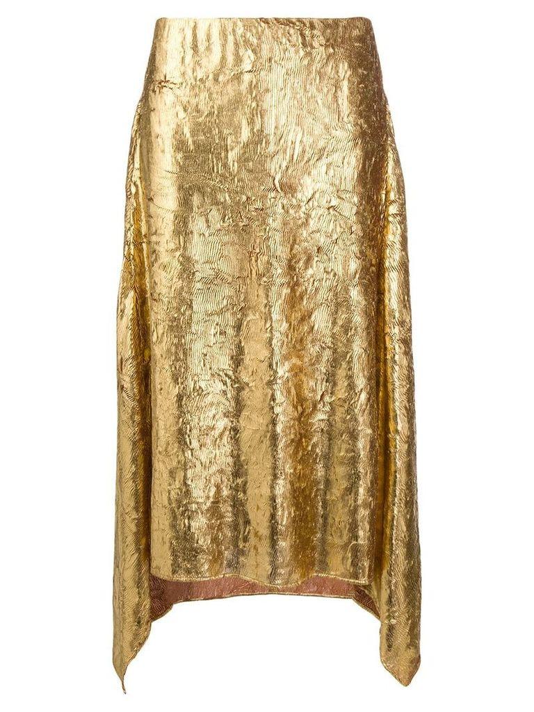 Sies Marjan asymmetric skirt - Gold