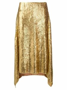 Sies Marjan asymmetric skirt - Gold