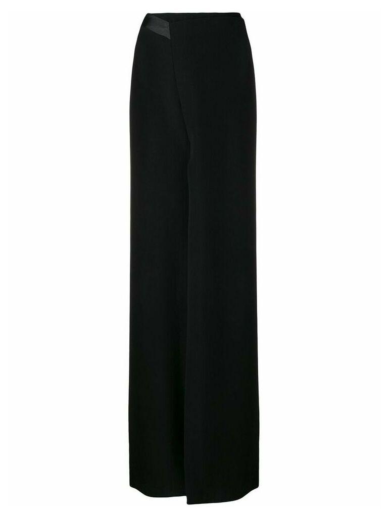 Poiret front slit skirt - Black