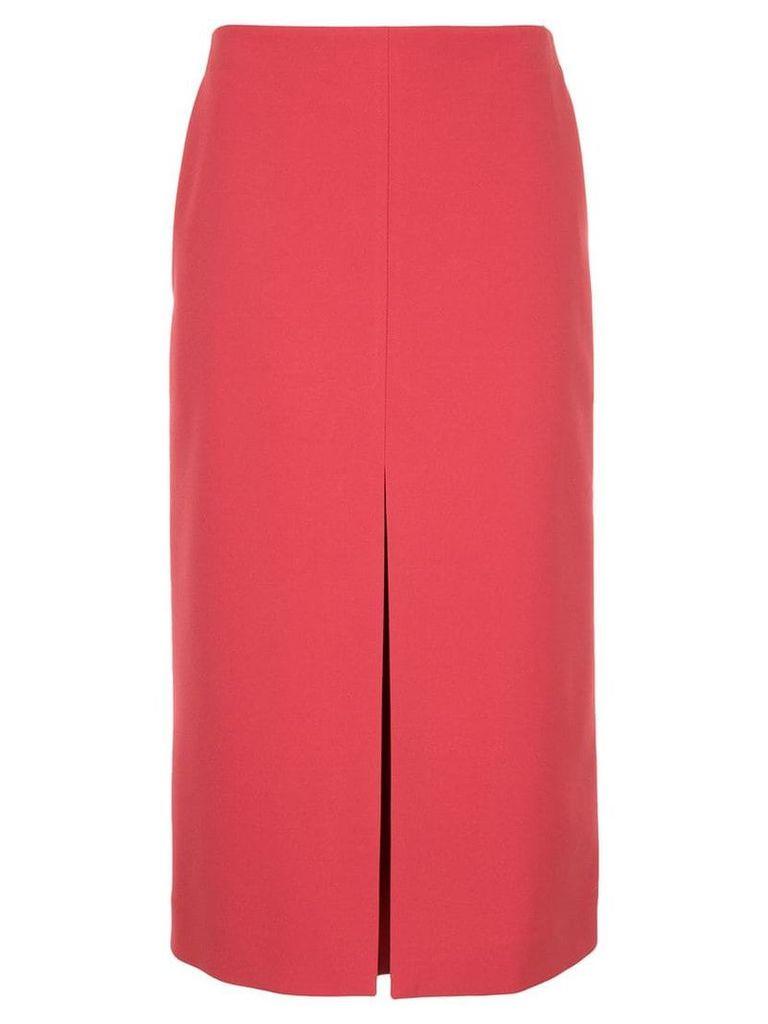 Jil Sander high waisted midi skirt - Pink