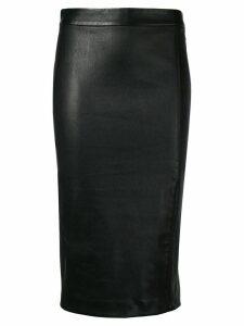 Theory nappa pencil skirt - Black
