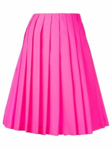 Prada pleated loose skirt - Pink