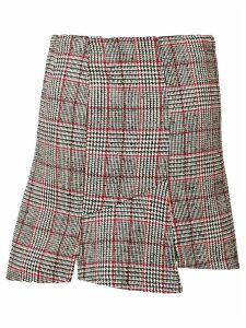 McQ Alexander McQueen checked skirt - Black