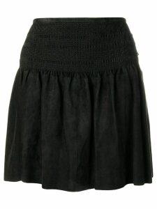 Diesel Black Gold flared mini skirt