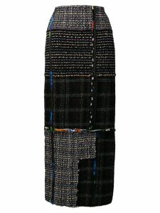 3.1 Phillip Lim long tweed skirt - Black