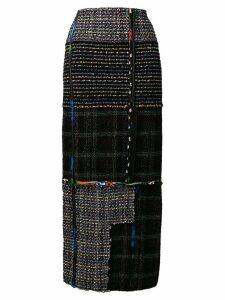 3.1 Phillip Lim long tweed skirt - Black