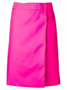 Prada nylon skirt - Pink