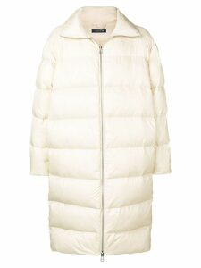 A.A. Spectrum puffer maxi coat - White