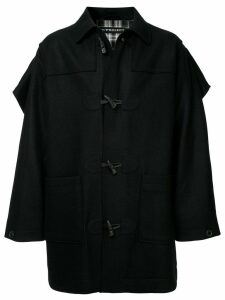 Y/Project caped duffle coat - Black