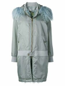 Mr & Mrs Italy waterproof zipped coat - Blue