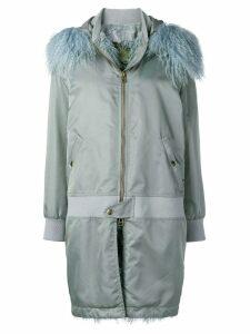 Mr & Mrs Italy waterproof zipped coat - Blue