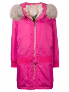Mr & Mrs Italy hooded parka coat - 4265