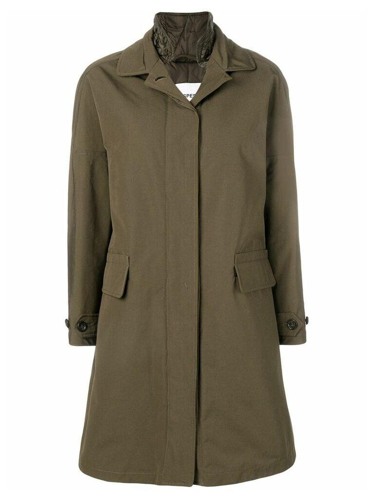 Aspesi padded raincoat - Green