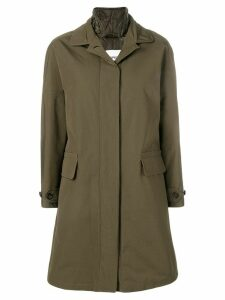 Aspesi padded raincoat - Green