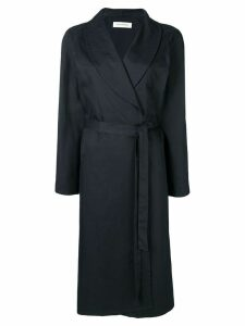 A Plan Application belted trench coat - Blue