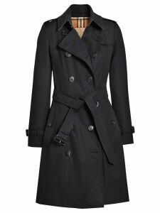 Burberry The Chelsea Heritage Trench Coat - Blue