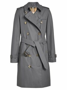 Burberry The Kensington Heritage Trench Coat - Grey