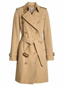 Burberry The Kensington Heritage Trench Coat - Neutrals