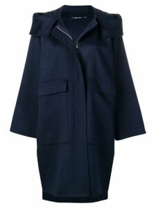 Sofie D'hoore Candia hooded coat - Blue