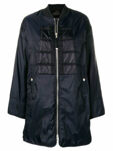 Diesel Black Gold flared bomber coat - Blue