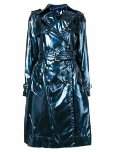 Marc Jacobs Vinyl trench coat - Blue