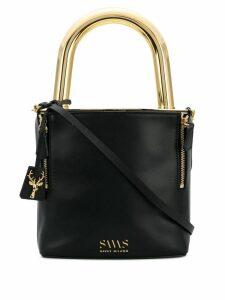 Savas Lucchetto crossbody bag - Black