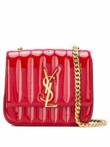 Saint Laurent small Vicky chain bag - Red