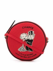 Olympia Le-Tan Monopoly Chance crossbody bag - Red