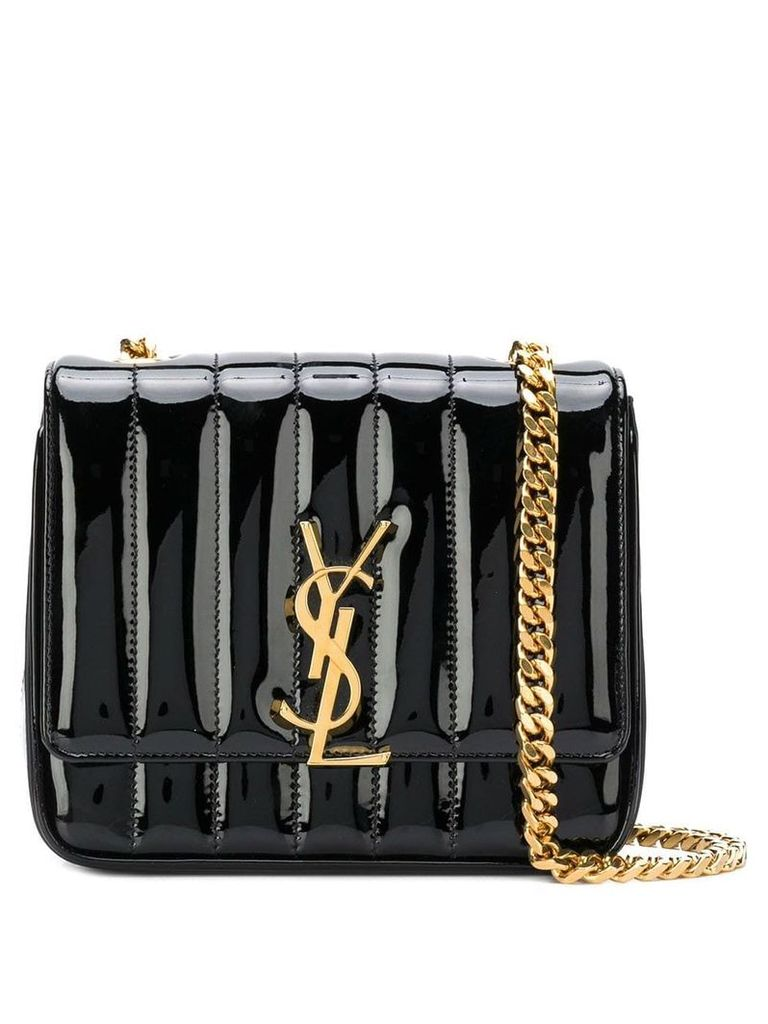 Saint Laurent small Vicky chain bag - Black