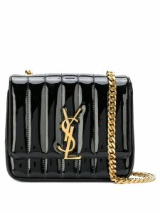 Saint Laurent small Vicky chain bag - Black