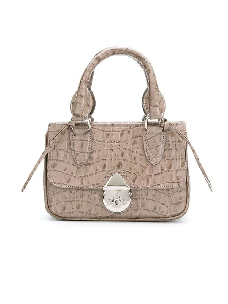 Sarah Chofakian leather bag - Neutrals