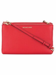 Michael Michael Kors double zips crossbody bag - Red