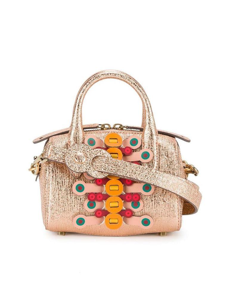 Anya Hindmarch mini Vere Flip barrel bag - Pink