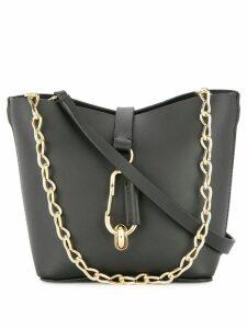 Zac Zac Posen Belay mini chain hobo bag - Black