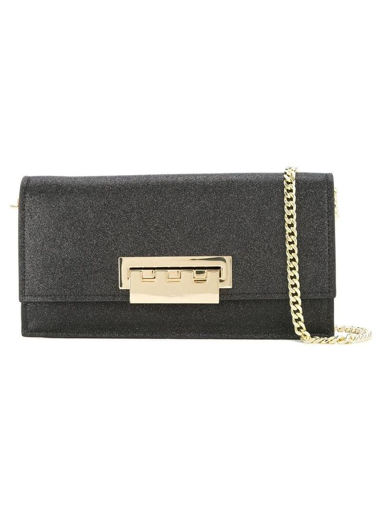 Zac Zac Posen Earthette flat clutch - Black