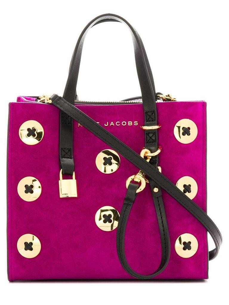 Marc Jacobs buttons detail crossbody bag - Pink