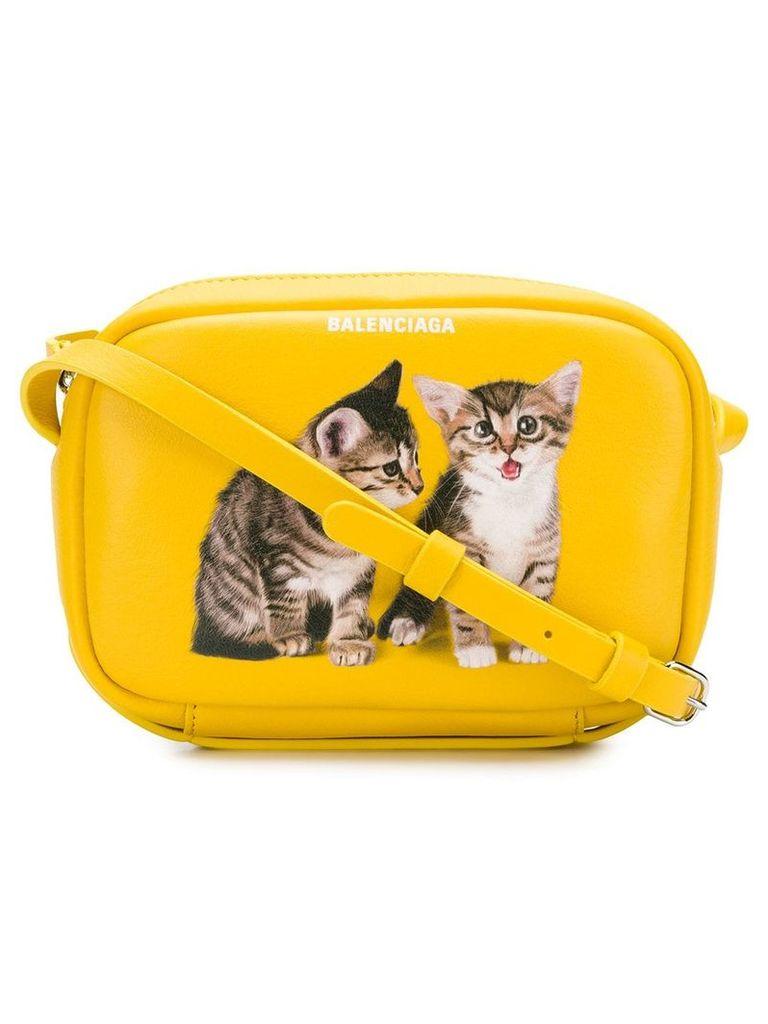 Balenciaga Everyday XS camera bag - Yellow