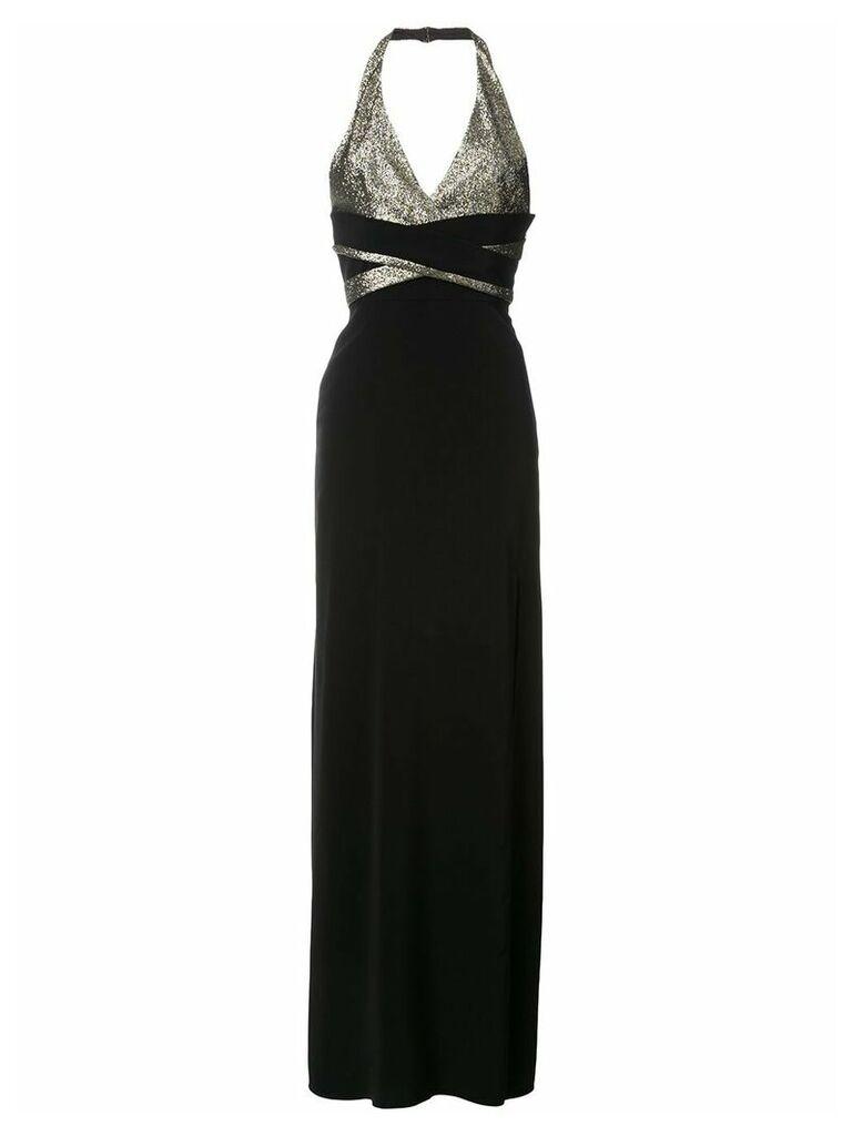 Lanvin halterneck gown - Black