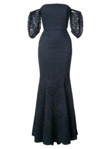 Zac Zac Posen Vivienne gown - Blue
