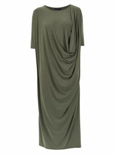 Uma Raquel Davidowicz draped Real dress - Green