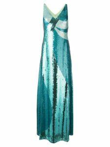 Emilio Pucci sequin evening dress - Blue