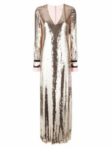 Emilio Pucci sequin evening dress - Metallic