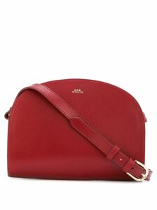 A.P.C. Demi Lune crossbody bag - Red