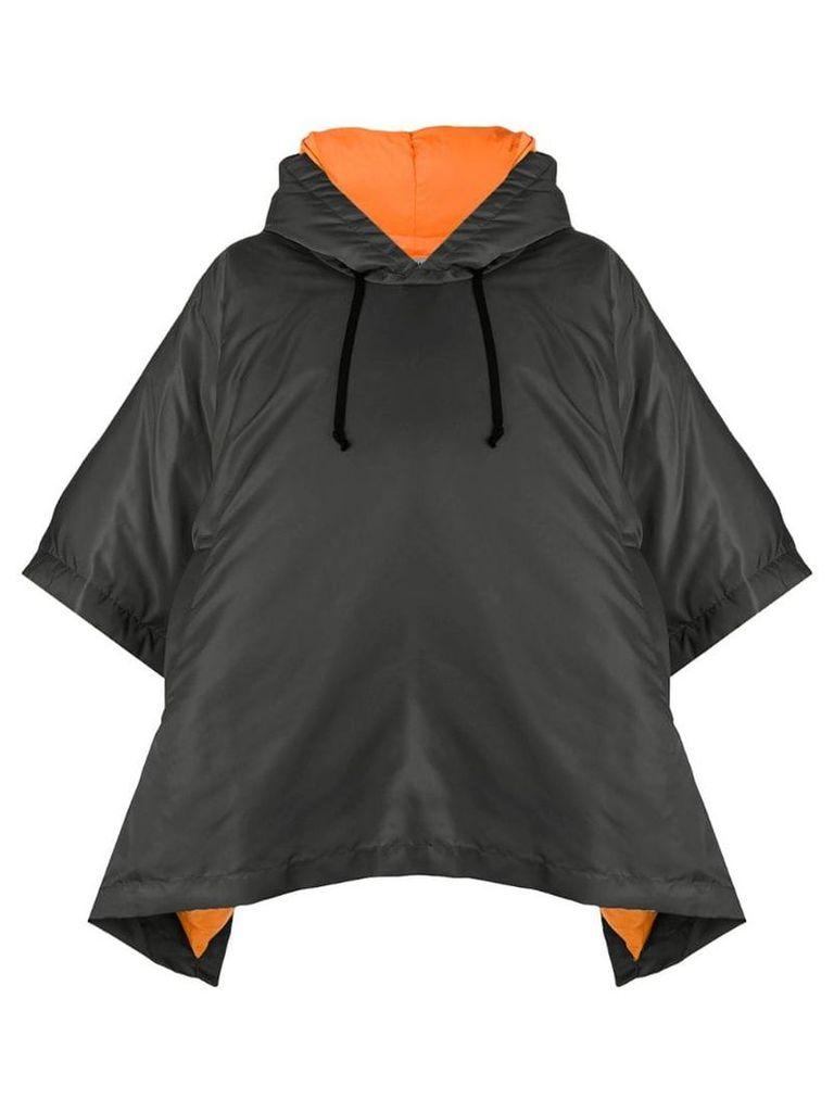 Comme Des Garçons Comme Des Garçons short-sleeve hooded jacket - Black