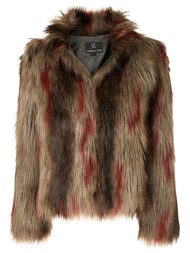 Unreal Fur Delish jacket - Brown