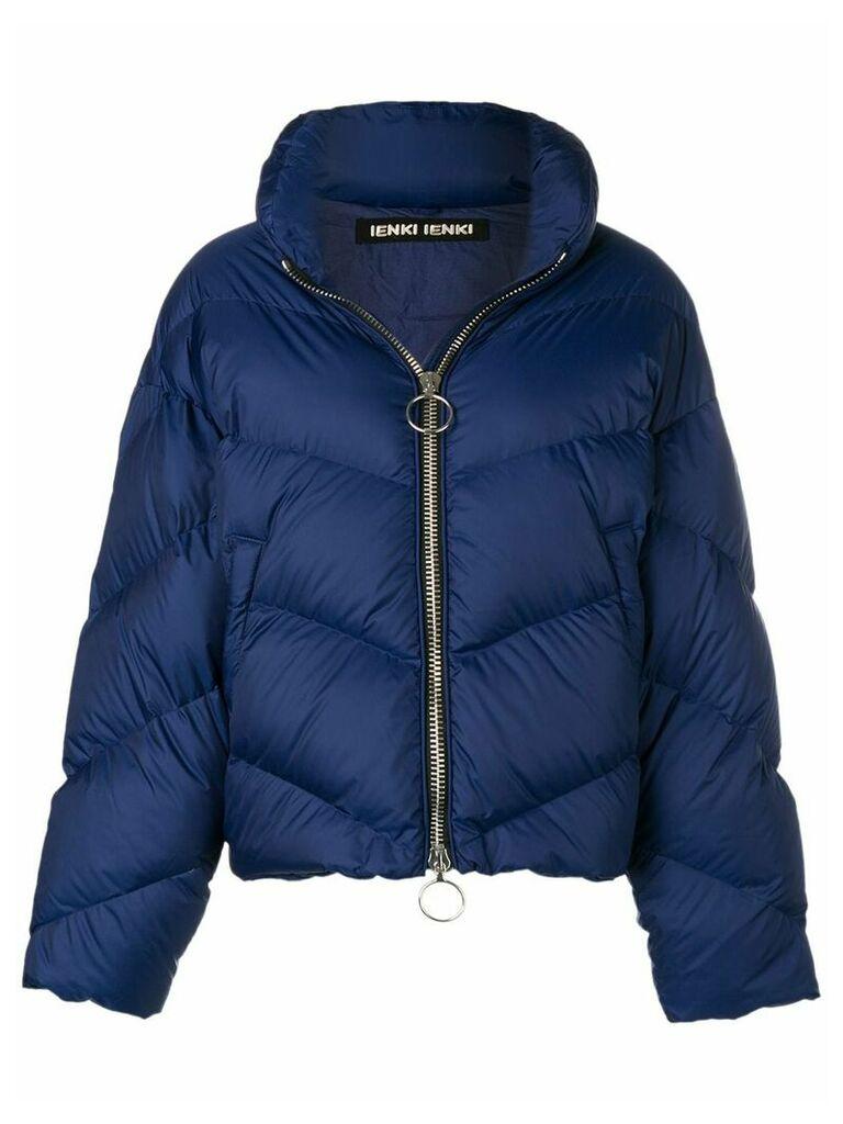 Ienki Ienki oversized puffer jacket - Blue