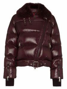 Moncler Foulque Padded Jacket - Purple