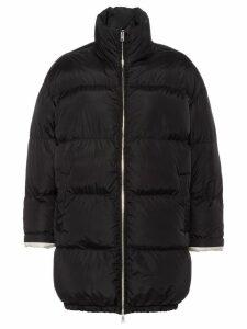 Prada feather nylon puffer jacket - Black